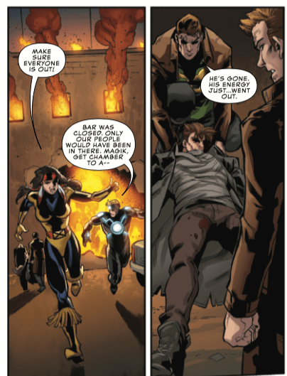 Did another X-Man just die in Uncanny X-Men #18?