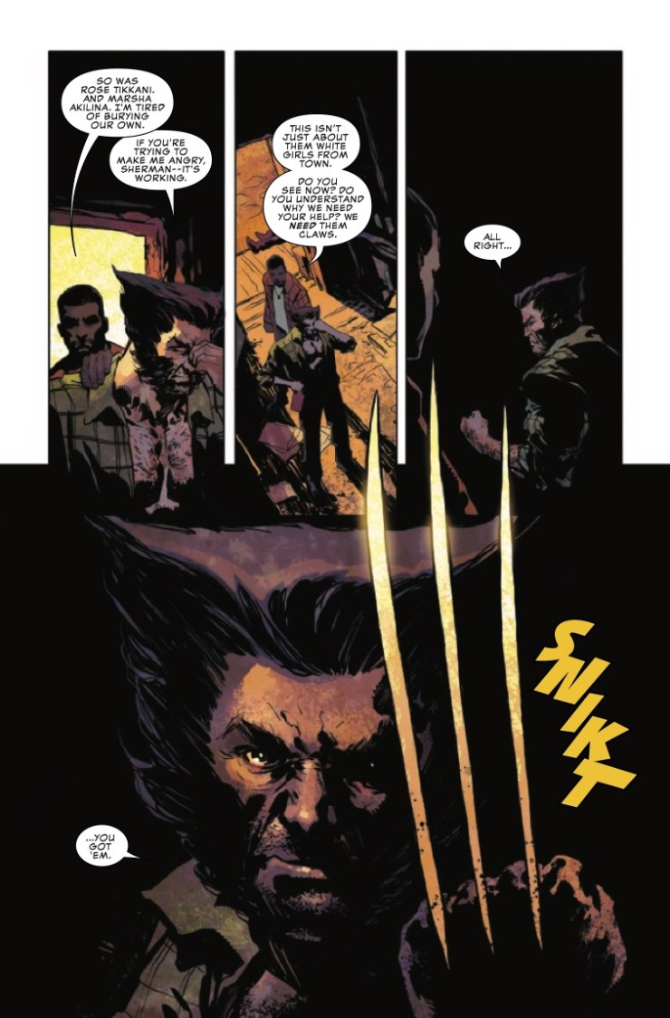 Marvel Preview: Wolverine: The Long Night #5