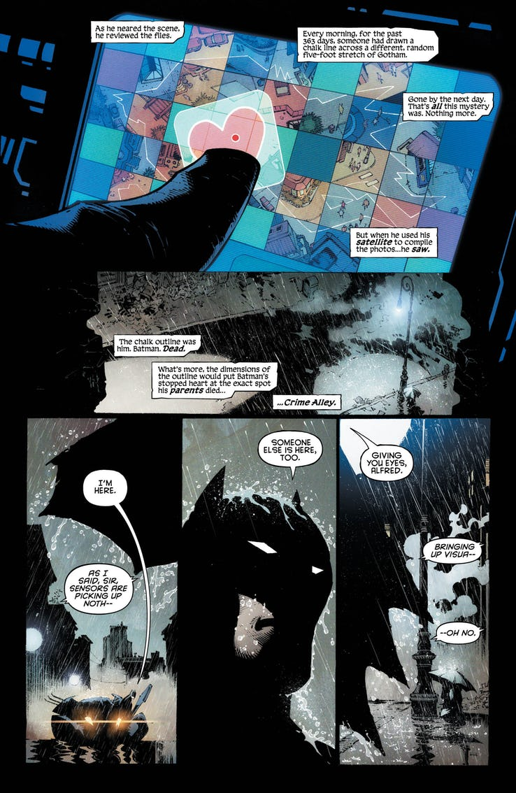 Batman: Last Knight on Earth #1 review: persisting without purpose