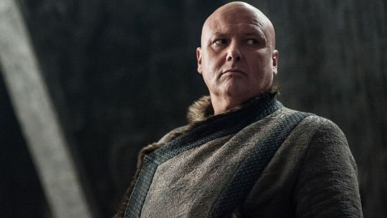 Although Varys wasn't as prominent a character in the final season of Game of Thrones, he wasn't as absent as many viewers might think.