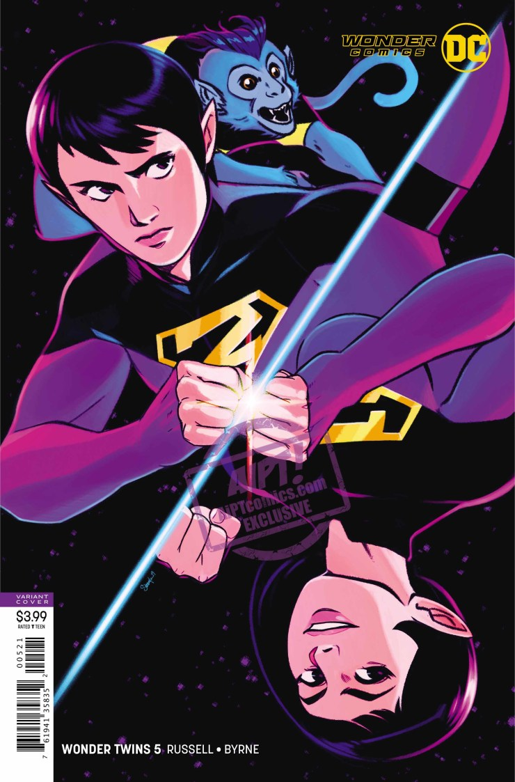 EXCLUSIVE DC Preview: Wonder Twins #5