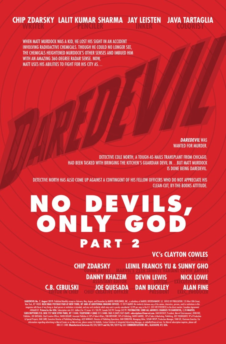 Marvel Preview: Daredevil #7