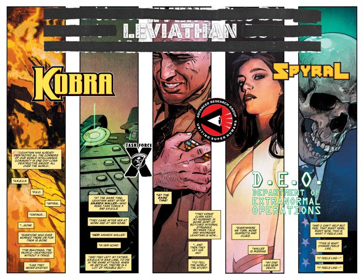 Event Leviathan #1 review: a slow start