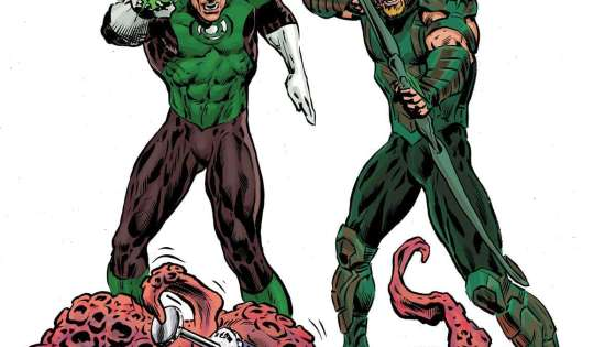 The Green Lantern #8 Annotations: The Green Arrow