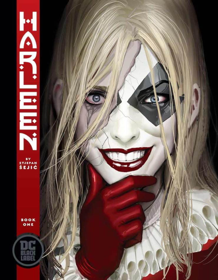 Harley Quinn gets a new origin from Stjepan Šejić this September