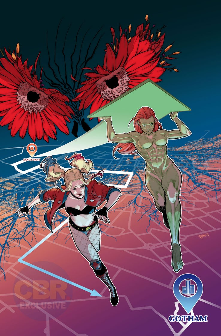 Harley Quinn and Poison Ivy hit the road in new 'Heroes in Crisis' spin-off