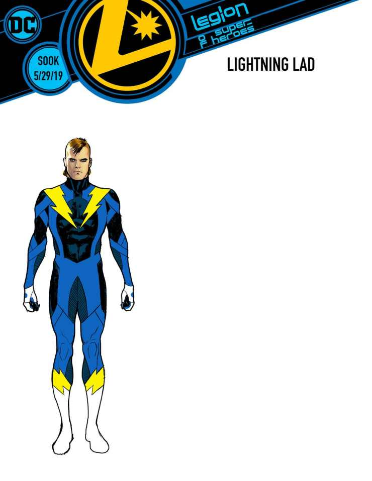 First look at DC's Legion of Super-Heroes' costumes