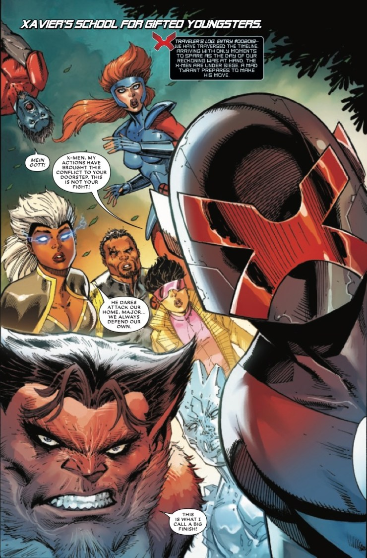 Marvel Preview: Major X #6