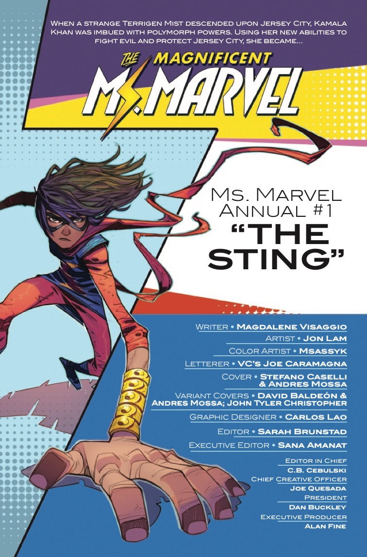 The Magnificent Ms. Marvel Annual #1 Review