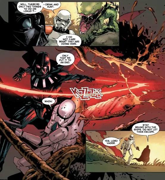 Star Wars: Darth Vader - Dark Visions #5 Review