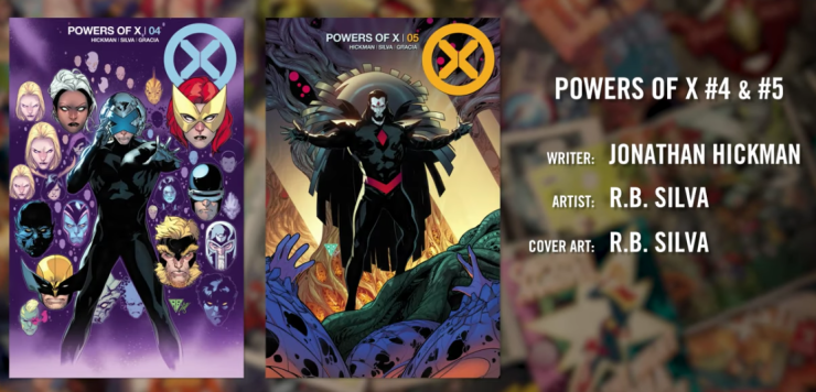 First Look: House of X and Powers of X #4 and #5 covers and art revealed