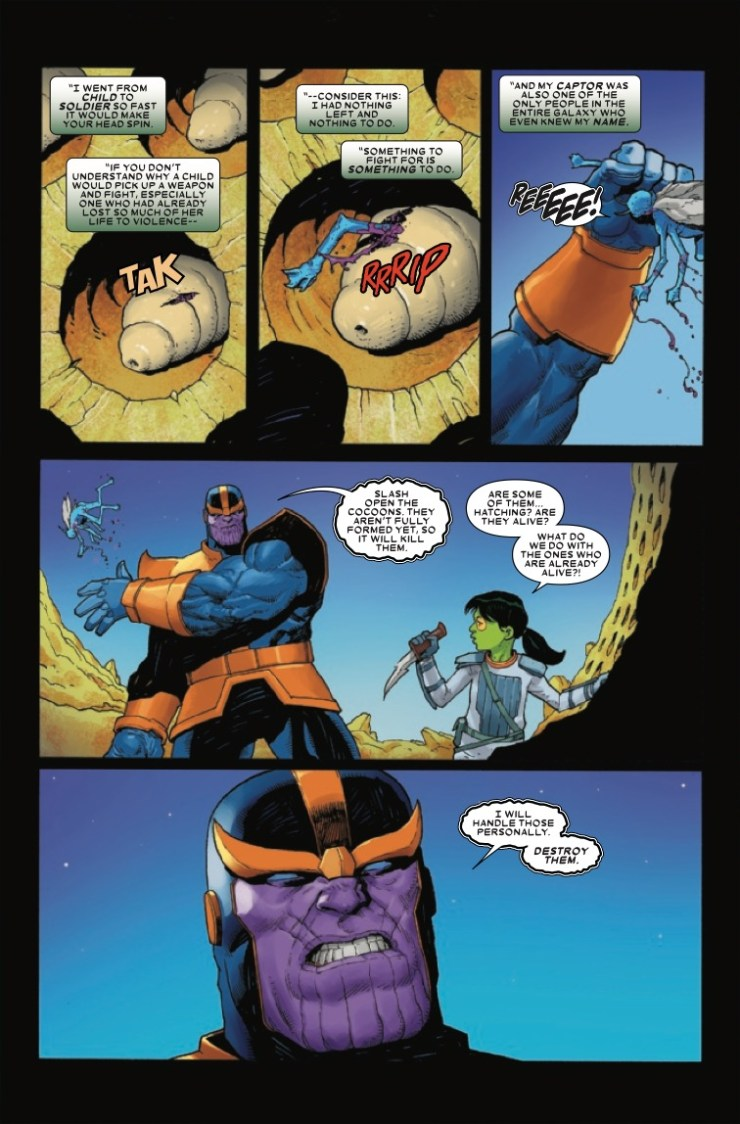 Marvel Preview: Thanos #3
