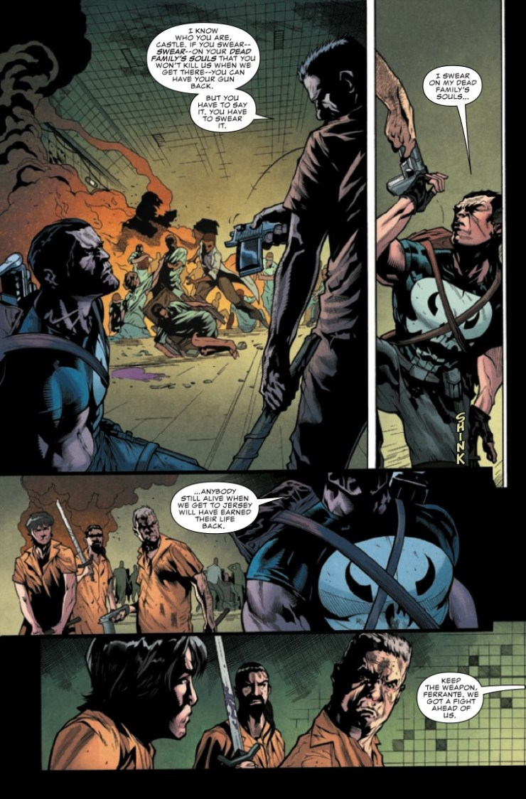 Marvel Preview: War of the Realms: The Punisher #3