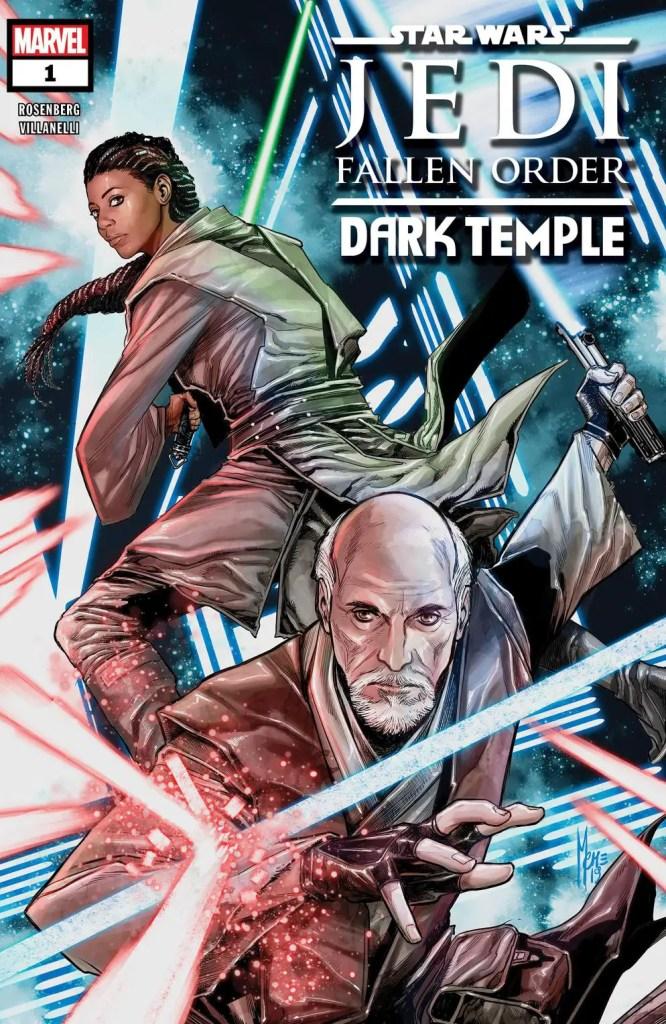 Marvel announces Star Wars: Jedi Fallen Order - Dark Temple #1