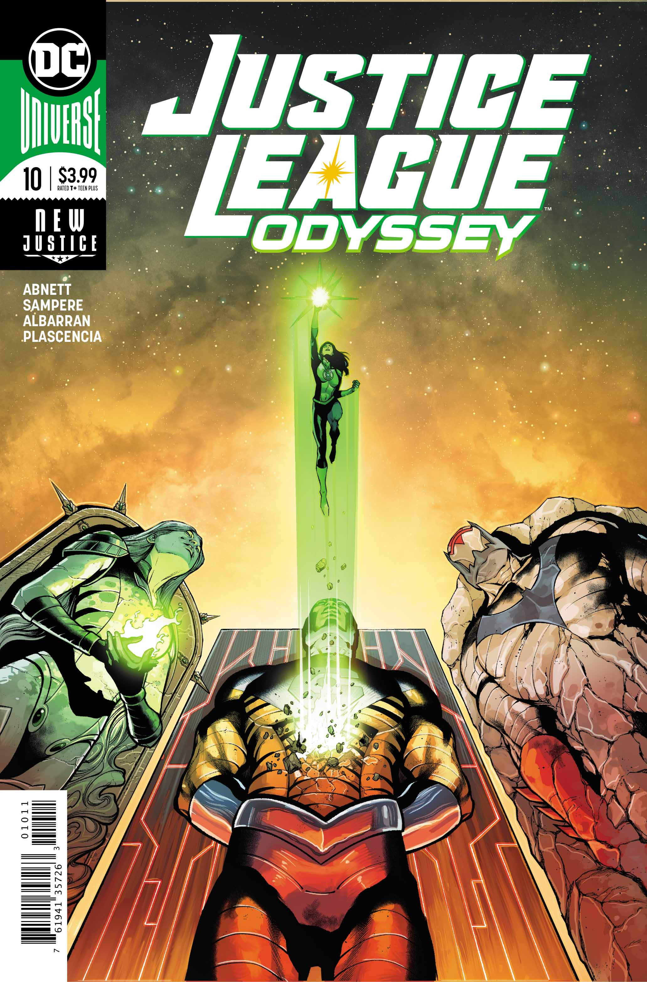 Justice League Odyssey #10 Review