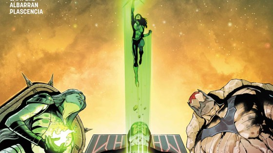 A good transition issue as the team moves into the second phase of their plan to save the multiverse.