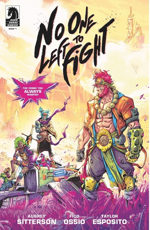 No one Left to Fight aims to be Dragon Ball Z for the Seapunk aesthetic