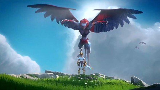 Last week a rumored project, codenamed Orpheus, made the rounds. At Ubisoft's E3 Press Conference, Orpheus was revealed to be Gods & Monsters, a fantasy open-world adventure in the vein of Nintendo's Legend of Zelda: Breath of the Wild in both tone and scope.