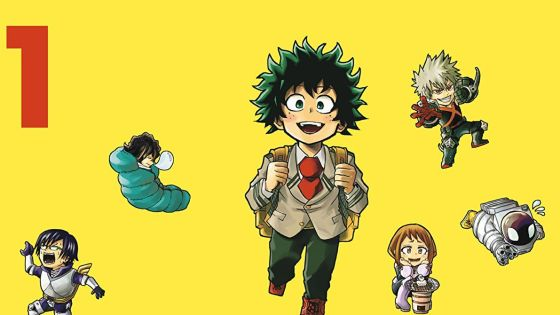 My Hero Academia gets a humorous spin-off.