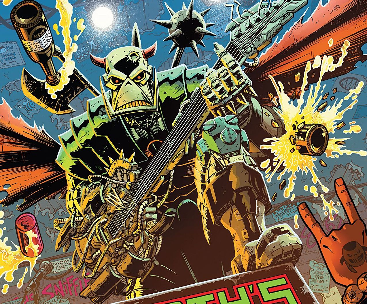 Death's Head #1 review: read this, yes?