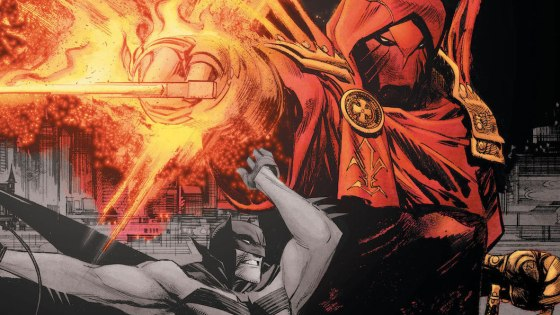Batman: Curse of the White Knight #1 review