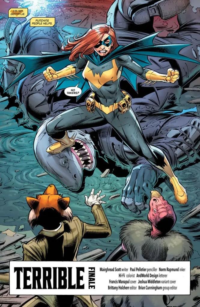 Batgirl #36 Review