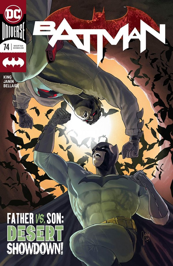 Batman #74 review: the descent