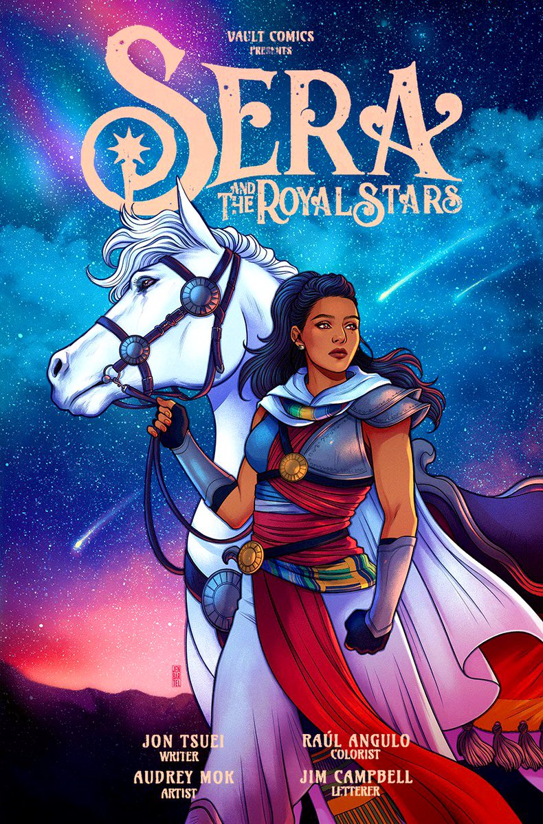 Sera and the Royal Stars #1 review: breathtaking