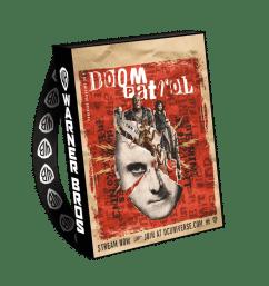 Doom Patrol SDCC 2019 Bag-min
