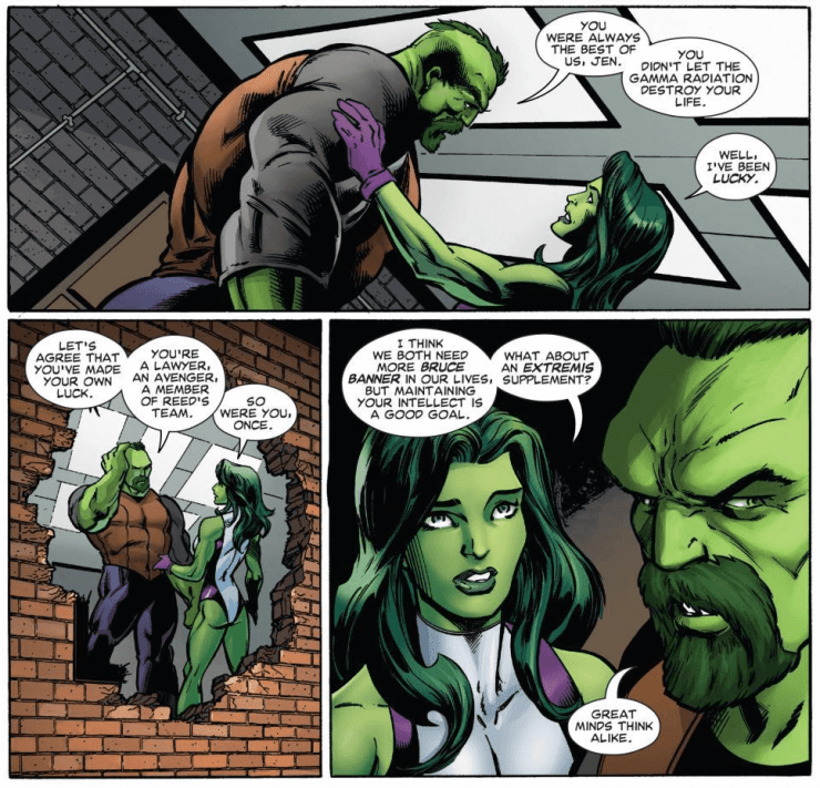 No fun: Discussing She-Hulk's lackluster portrayal in 'Avengers' #20