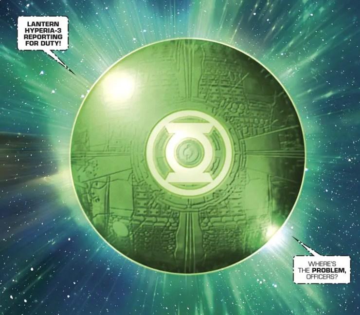 A Strange new Lantern debuts in 'The Green Lantern Annual' #1