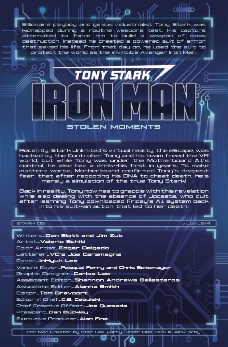Marvel Preview: Tony Stark: Iron Man #14