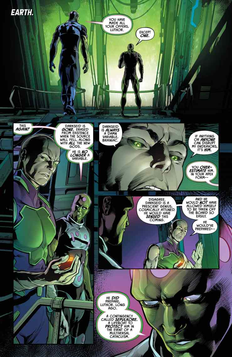 Justice League Odyssey #11 Review