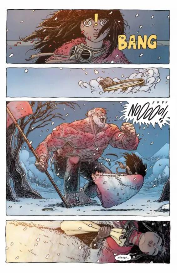 'Little Bird' comic spotlight with writer Darcy Van Poelgeest
