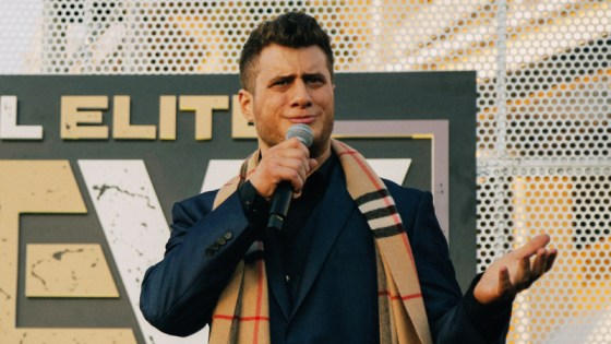 MJF was pulled from an indie show due to the injury.