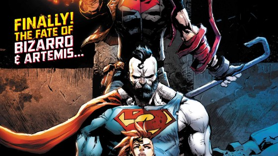 The fate of Bizarro and Artemis revealed!