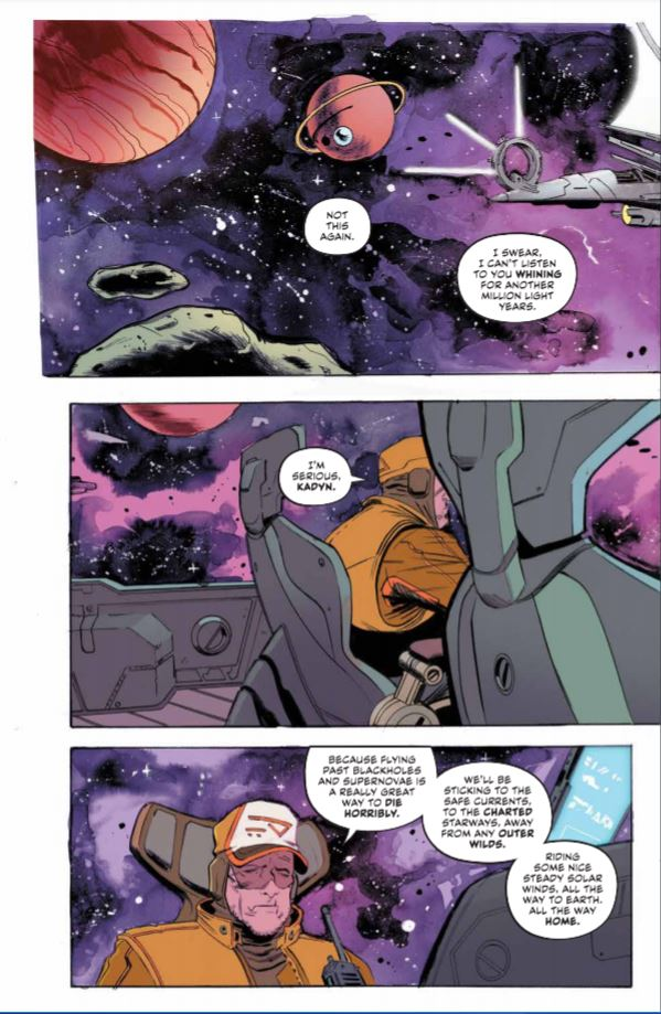 Sea of Stars #1 review: a tumultuous separation