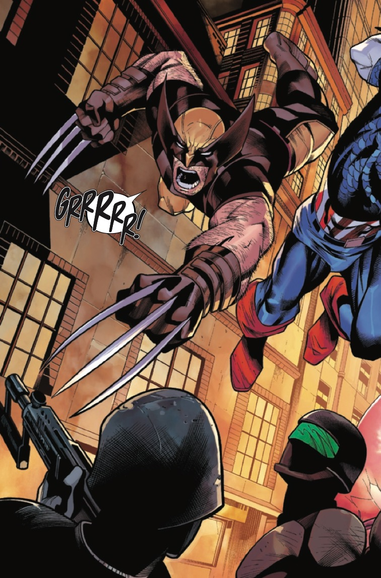 Wolverine And Captain America: Weapon Plus #1 Review