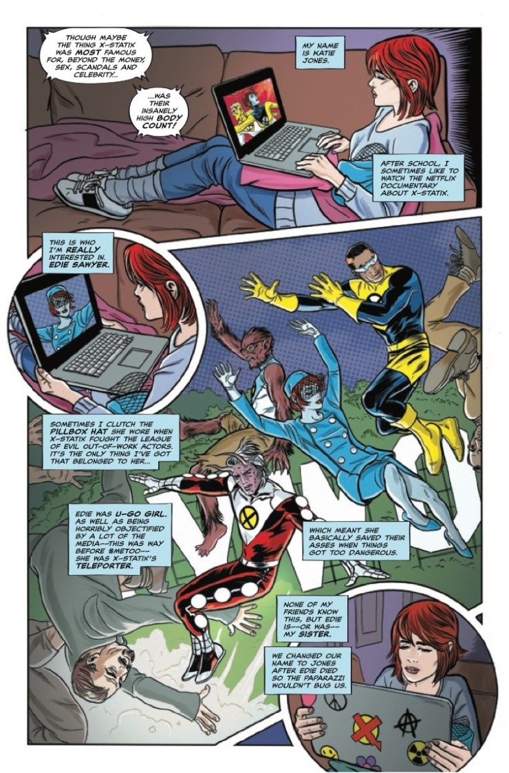Marvel Preview: Giant Sized X-Statix #1