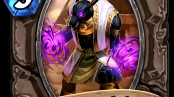 Hearthstone: Saviors of Uldum: New minion, Anubisath Warbringer revealed