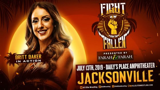 Britt Baker suffers concussion at AEW Fight for the Fallen PPV