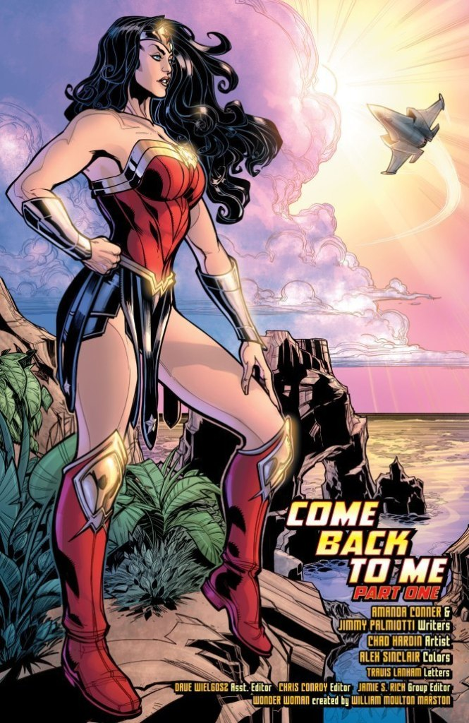 Wonder Woman: Come Back to Me #1 review: Don't bother coming back