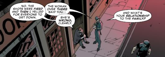 Daredevil #8 review: time to meet the (mob) family