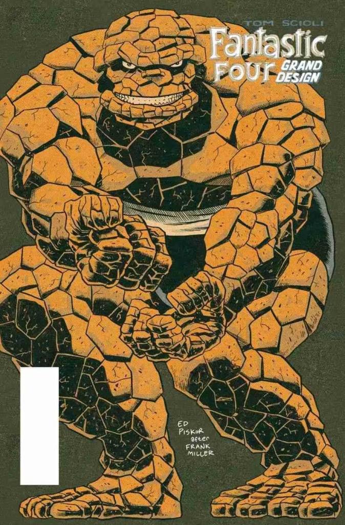 Marvel Comics announces 'Fantastic Four: Grand Design' out this October