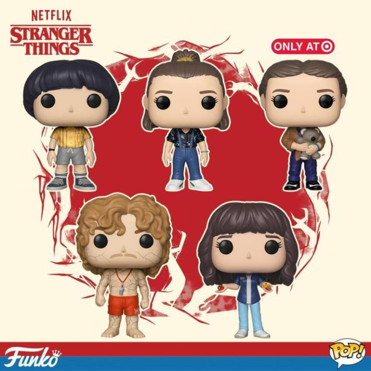 Funko celebrates Stranger Things Season 3 with new spoiler laced Pops