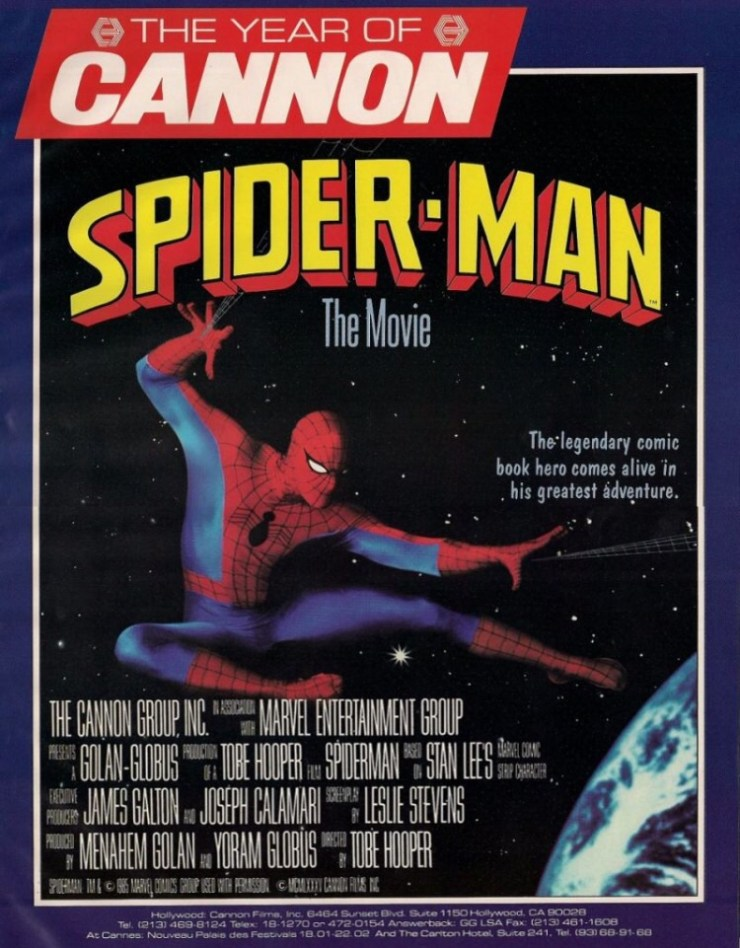 The unproduced web of Spider-Man: Part one