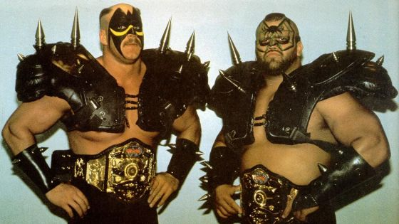 In the territories, tag team wrestling was different.