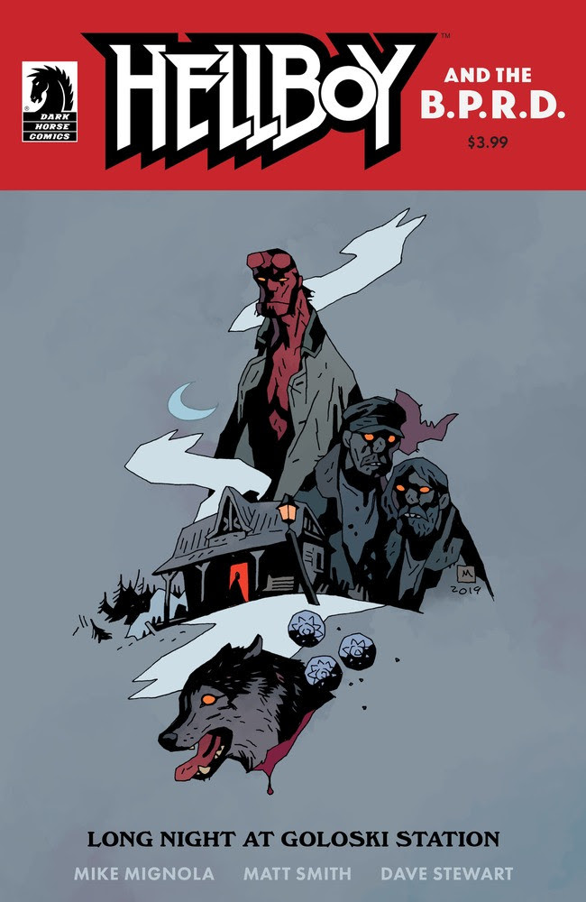"SDCC 2019: Dark Horse announces ""Hellboy and the B.P.R.D.: Long Night at Goloski Station"""