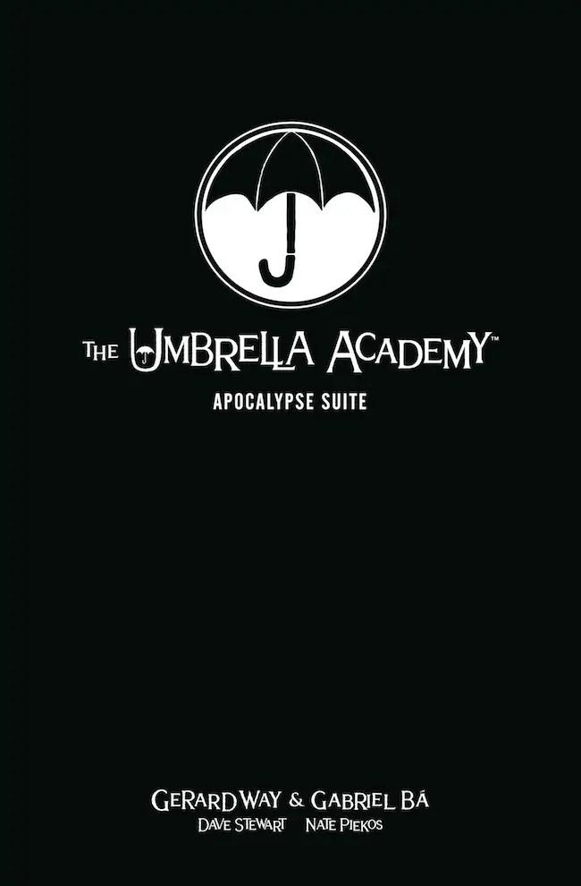 Dark Horse announces new Umbrella Academy one-shot