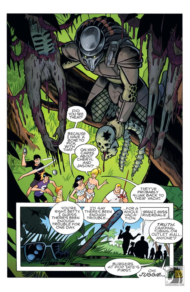 Archie vs. Predator TPB review